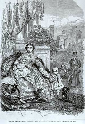 Crown Princess Viktoria Of Russia And Her Children by Arnold
